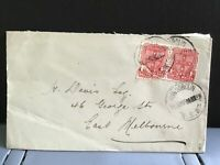 Australia New South Wales 1906 Melbourne   stamps cover R31281