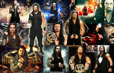 Roman Reigns (WWE) Collage Poster