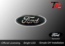 2004 - 2014 Ford F-150 LED Grille Logo Emblem - Black