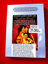 Crouching Tiger,Hidden Dragon Dvd Oop Chow Yun Fat Michelle Yeoh Superbit rental