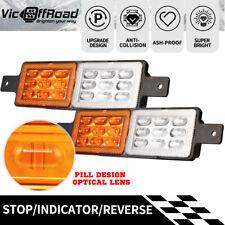 2x LED Bullbar Indicator & Parking Lights Submersible 12V