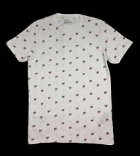 Fishbone Men's Cotton T Shirt FSBN White Size M