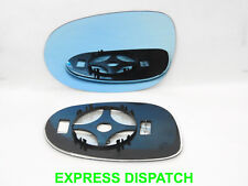 Wing Mirror Glass For FIAT BRAVO II 2007-2016 CONVEX HEATED Left BLUE #C019