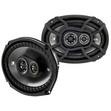 "Kicker 43CSC6934 6x9"" 3-Way Coaxial Car Audio Speakers 150w RMS"