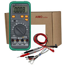 AIMOmeter MS8268N Pro Auto Ranging True RMS Digital Clamp Multimeter Capacitance