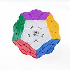 DaYan Megaminx Ridge 12-Axis 3-Rank Dodecahedron Speed Cube Stickerless Puzzle