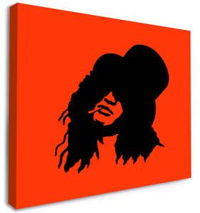 SLASH IMAGE on Box Canvas ART Memorabilia