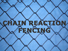 Black PVC Coated Chain Wire Steel Fence 1.85m high x 10m long 3.5mm Cyclone Mesh