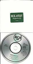 RICK ASTLEY Hopelessly 1993 USA PROMO Radio DJ CD Single RDJ62596 MINT
