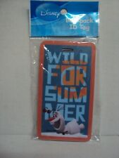 """DISNEY FROZEN """"OLAF BACKPACK / LUGGAGE NAME TAG - (ANNA, ELSA) NEW"""