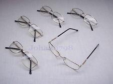 /NEU/ 5 x Lesebrillen mit Federung SILB Brillen Stärke + 4,00
