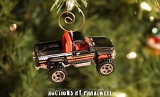 '87 1987 Toyota 4x4 Pickup Truck Custom Christmas Ornament 1/64th Scale Adorno