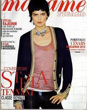 STELLA TENNANT+ CESARS 2013+PUB DIOR glacée 8 pages ! Mme FIGARO  21287 Jan 2013