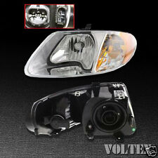 2001-2007 Chrysler Town & Country Voyager Headlight Lamp Clear lens Halogen LH