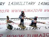 SOLDAT de plomb DEL PRADO 1/50 : AUSTERLITZ Napoléon : lot n°15 3 soldats