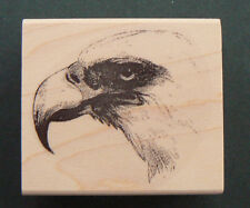 P29  Bald eagle rubber stamp NEW 2x2.25""