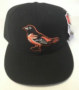 NWT MLB Baltimore Orioles OC Outdoor Cap Youth Vintage Snapback Black Hat NEW!