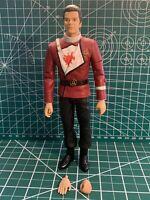 Art Asylum Star  Trek The Wrath of Khan Admiral Kirk and Bonus Glossy Postcard