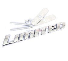 Chrome Metal Limited Hood Front Grille Grill Badge Emblem For Highlander
