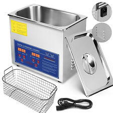Ultrasonic Cleaner 3L Liter INew Stainless Steel Industry Heated Heater w/Timer