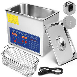 Ultrasonic Cleaner 3L Liter Stainless Steel Industry Heated Heater w/Timer