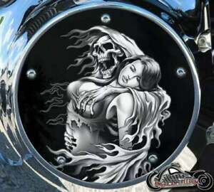 HARLEY DAVIDSON NARROW PROFILE DERBY COVER 2016-2021 TOURING Reaper Grab