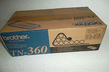 Brother TN-360 Black Toner Cartridge 2.6K Hi-Yield HL-2140 HL-2170W  TN360 NEW