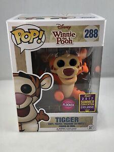 Tigger Winnie the Pooh Disney Funko Pop! Vinyl Figure Flocked SDCC Exclusive 288