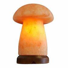 100% ORIGINAL MUSHROOM SHAPED HIMALAYAN ROCK CRYSTAL SALT LAMP DIMMER LIGHT