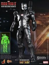 HOT Toys Iron Man War Machine Mark II Diecast EXC UK Nuova SIGILLATA di Fabbrica sigillata