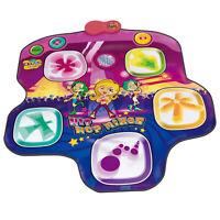 Kids Hip Hop Mixer Dance Mat Rhythm Game Touch Sensitive MP3/CD Holder Lights