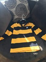 Third Man Records Jack White Detroit Vintage Rugby Shirt LIMITED sz M