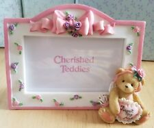Very Rare New Cherished Teddies - Forget Me Not - 103938 - Picture Frame