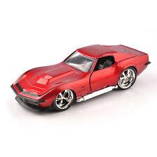 1/32 JADA Alloy Diecast 1969 Corvette StingRay ZL-1 Vehicle  Red Car Toy Gift