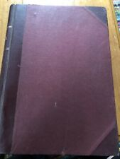 Vintage Ledger 1970s Accounts Cash Book Hand Written Crafting Crafts Prop Stage