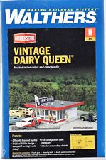 N Scale Walthers Cornerstone 933-3845 Vintage Dairy Queen Building Kit