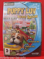 PUPPY LUV Animal Tycoon - PC GAME NEW IN BLISTER PACKS