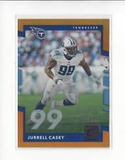 2017 Donruss Jersey Number #52 Jurrell Casey Titans 21/99