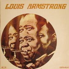 "12"" Louis Armstrong (High Society, Muskrat Ramble) Cath Ala BLP 100.007"
