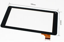 """7"""" Touch Screen Digitizer For Beex Rainbow Tablet 186x104 mm aoc 50155 86V"""