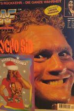 WWF WWE Magazin 12/1996 deutsch Wrestling + 2 Postkarten