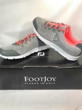 FootJoy enJoy Women's Mesh UberLite Washable Rubber Golf Shoes, Size 7.5, Grey