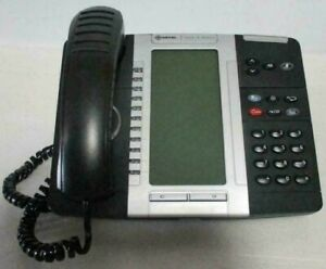 Lot of 10 Mitel 5330 IP VoIP PoE Dual Mode Office Phones w/ Handsets & Stands