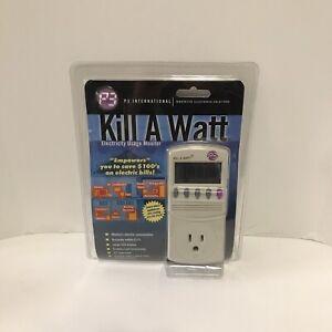 P3 International Kill A Watt Electricity Usage Monitor- Model #P4400 New