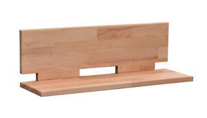 Wandboard Buche massiv 50 - 120 cm  Kernbuche