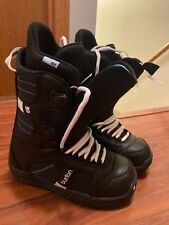 Women's Burton Coco Snowboard Boots Black Size 6