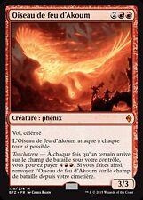MRM FRENCH FOIL Oiseau de feu d'Akoum (Akoum Firebird) MTG magic BFZ