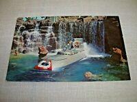 Vintage Disneyland Anaheim CA Postcard SUBMARINE FALLS E-8 VG+ Chrome Post Card