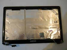 SAMSUNG NP300E LCD SCREEN LID BACK COVER BLUE / BLACK & HINGES BA75-03940A