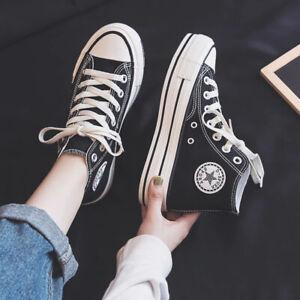 Baskets sneakers noires semelle blanche compensée à la mode tendance fashion new